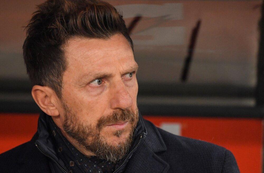 Cagliari vastu kaheväravalise edu maha mänginud AS Roma peatreenerit ähvardab vallandamine?