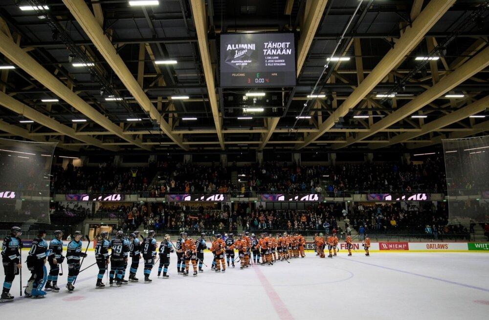 Soome hokiliiga: Lahti Pelicansi vs Hämeenlinna HPK