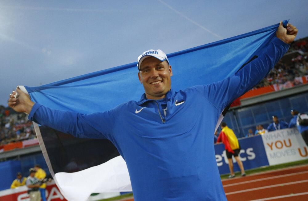 Gerd Kanter: üle ühe medali on Eestil suvel MMil keeruline saada