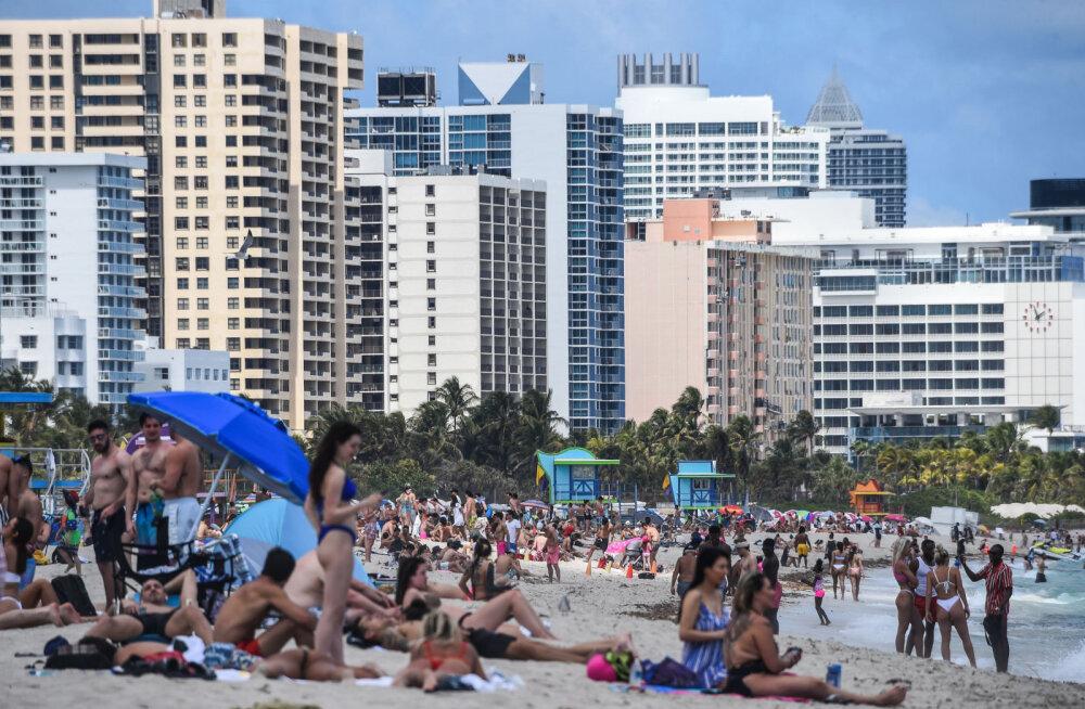ФОТО | А тем временем в Майами... Кто-то новости явно не читает и не слушает