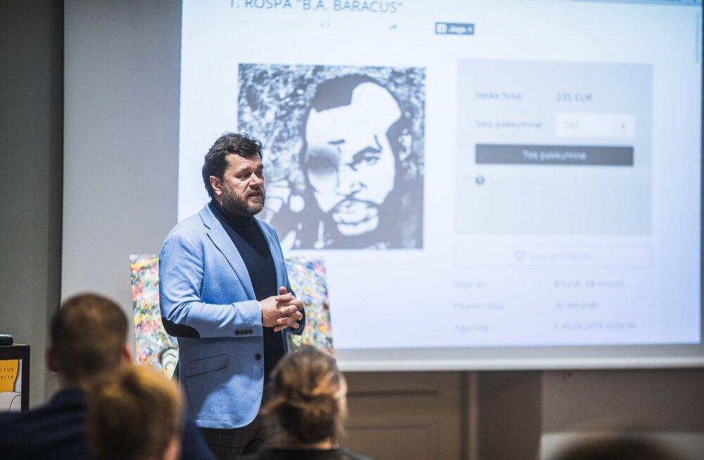 Heategevuslikul kunstioksjonil koguti Kuressaare haiglale üle 4000 euro