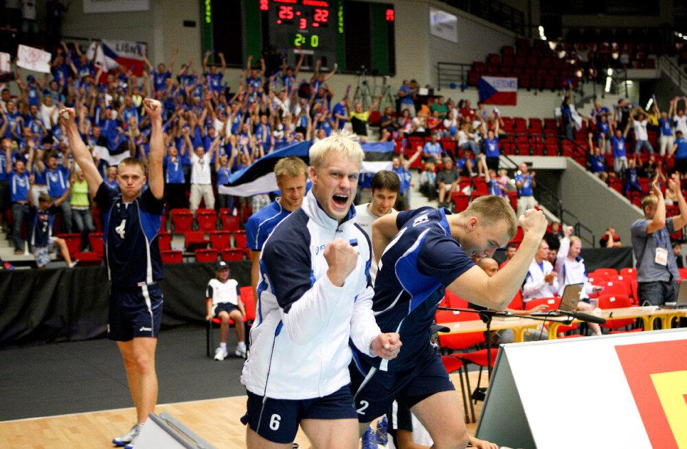 Itaalia meedia: võrkpalli EMile tuleb Eesti fänne pea sama palju kui prantslasi