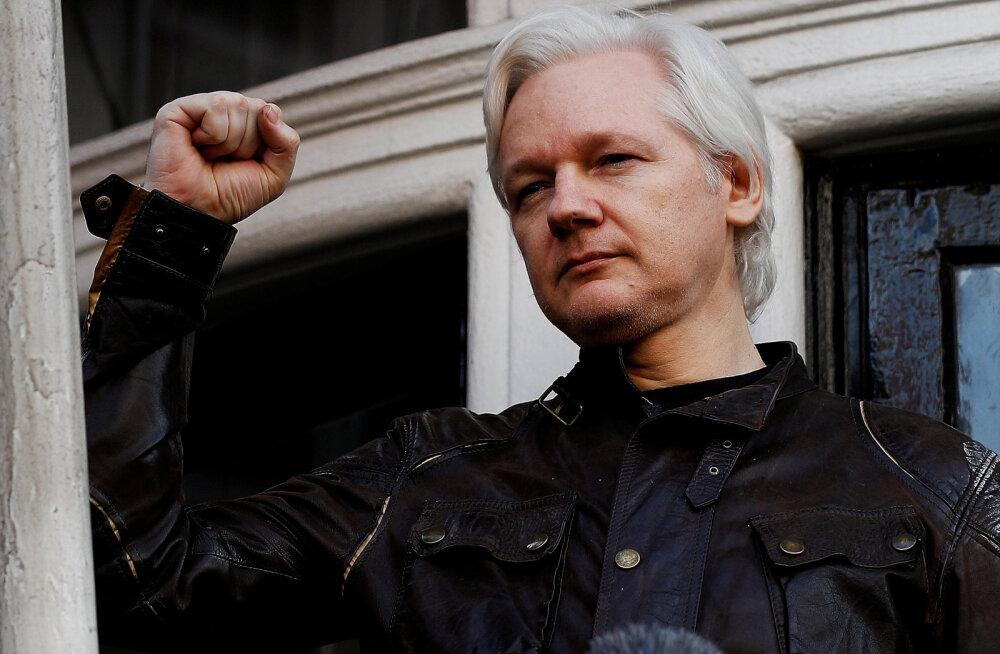 VIDEO | WikiLeaksi asutaja Julian Assange vahistati Londonis