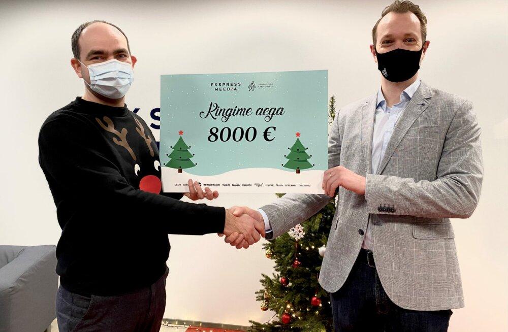Ekspress Meedia jõuluannetus läheb vähiravifondile Kingitud Elu