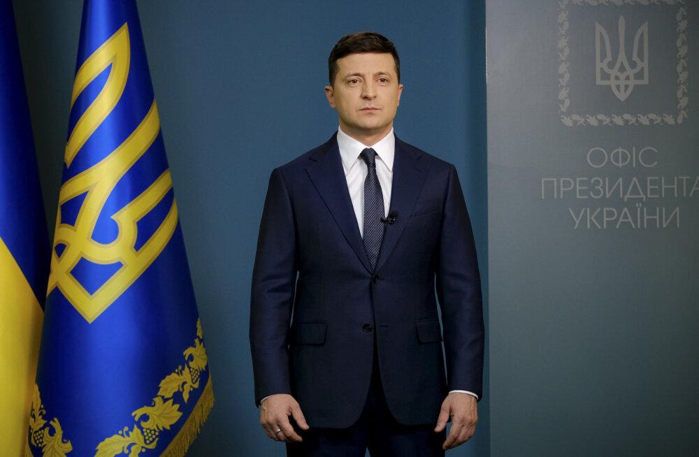 Ukraina president Zelenskõi lubas koroonaviiruse vastu tegutseda karmilt ja ebapopulaarselt