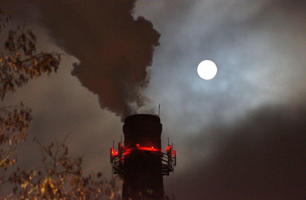 ФОТО и ВИДЕО DELFI: Суперлуние над Таллинном и Эстонией