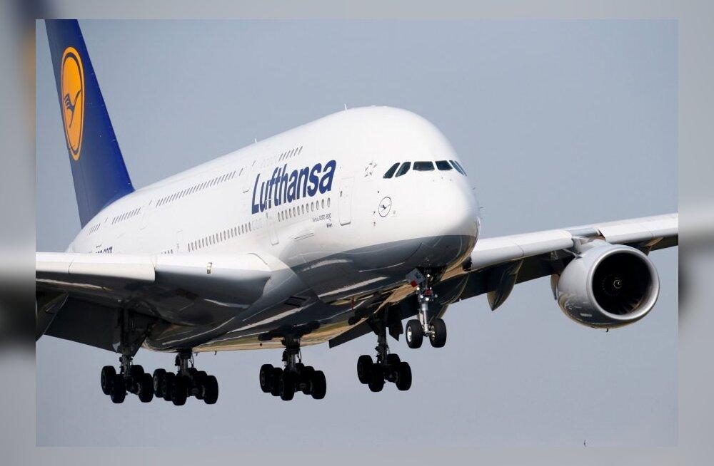 Lufthansa streigib taas.