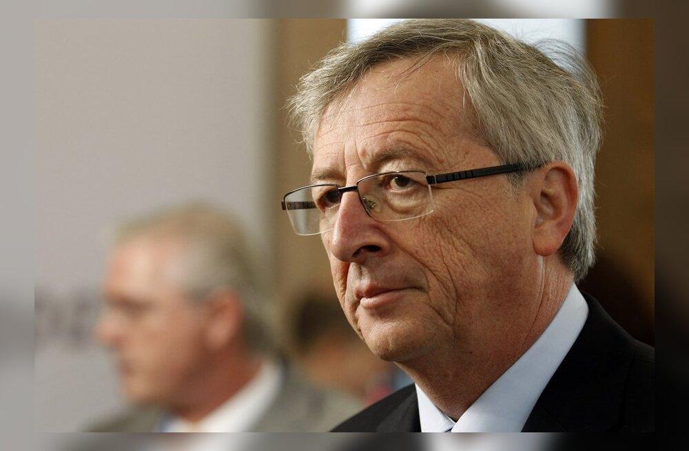 Juncker: ESM võib tööle hakata oktoobri lõpus