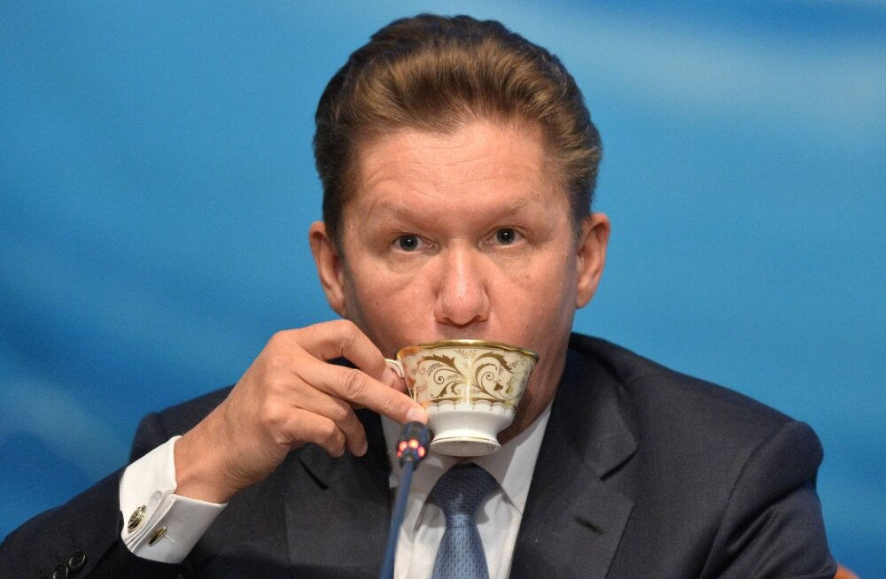 Gazpromi juht Aleksei Miller.
