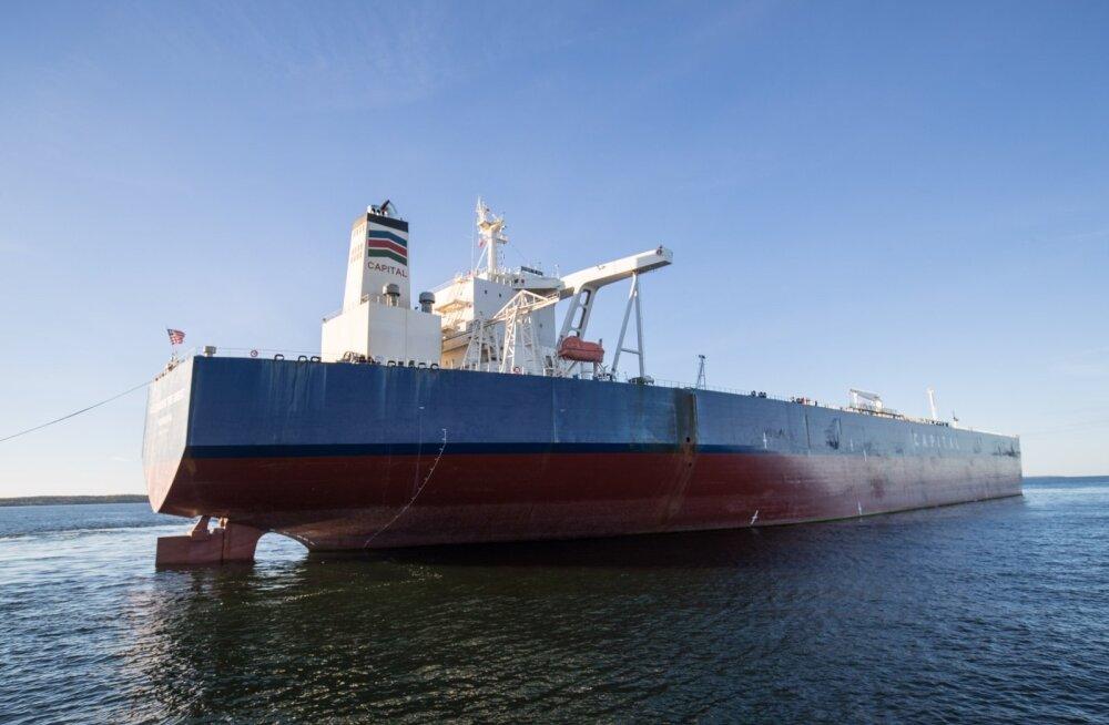 Kaubalaev Muuga sadamas