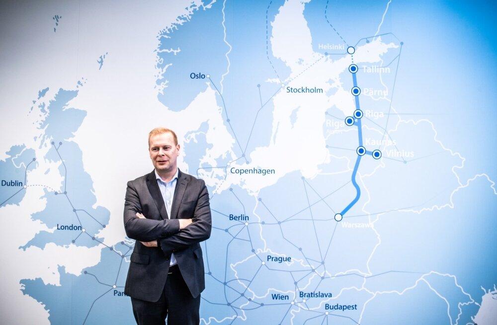 RB Rail AS-i nõukogu ja Rail Balticu ühisettevõtte tegevjuht ja juhatuse esimees Timo Riihimäki arvab, et Soome kaubakäitlejatel on Rail Balticu vastu huvi, sest mööda raudteed saab kaupa kiiremini transportida kui meritsi.