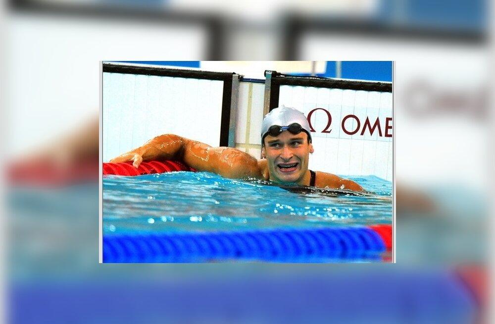 Martti Aljand võitis USAs rinnuliujumises hõbemedali