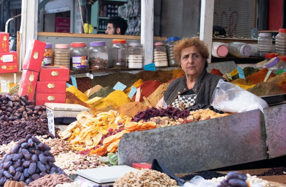 Carmel market Tel Avivis
