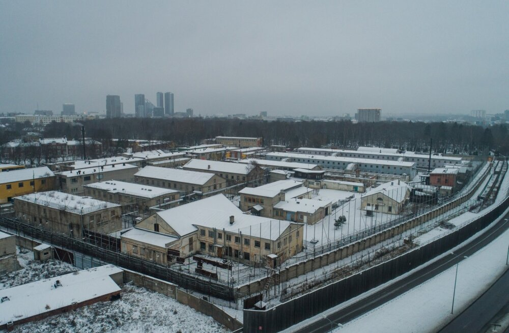 Tallinna vangla droonifotod