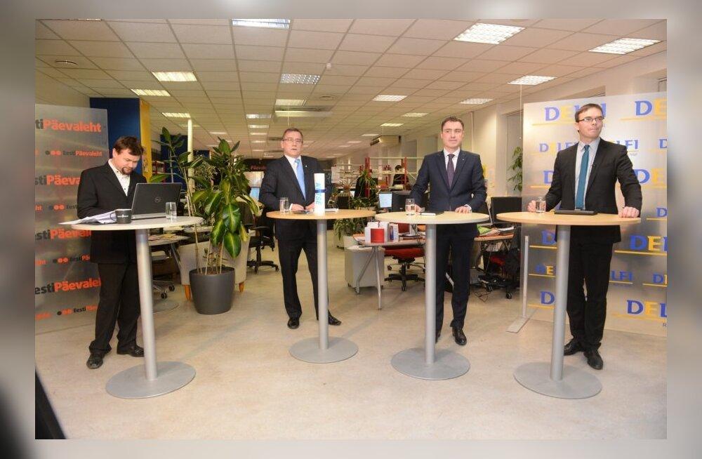 Peaministrikandidaatide debatt Delfis