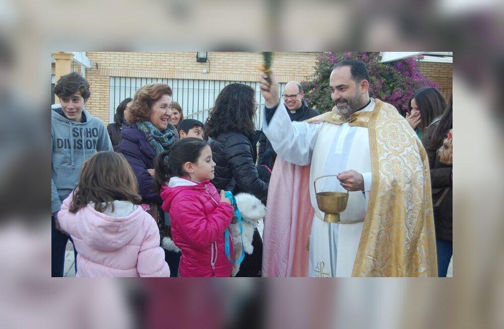 VIDEO | Olgu teie koduloomad õnnistatud! Katoliku kirikud avasid täna neljajalgsetele uksed