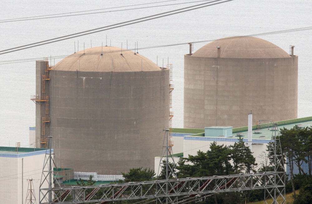 Lõuna-Korea loobub tuumajaamadest