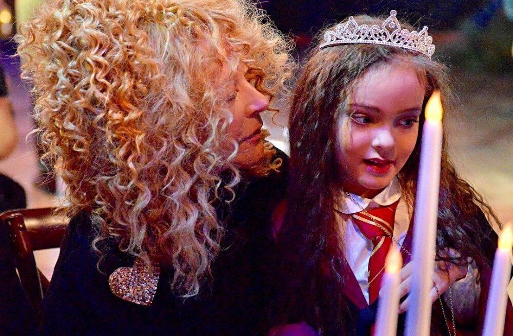 FOTOD   Unistuste sünnipäev! Superstaar Philipp Kikorov korraldas tütrele unustamatu peo, kuhu tuli Venemaa staaride koorekiht