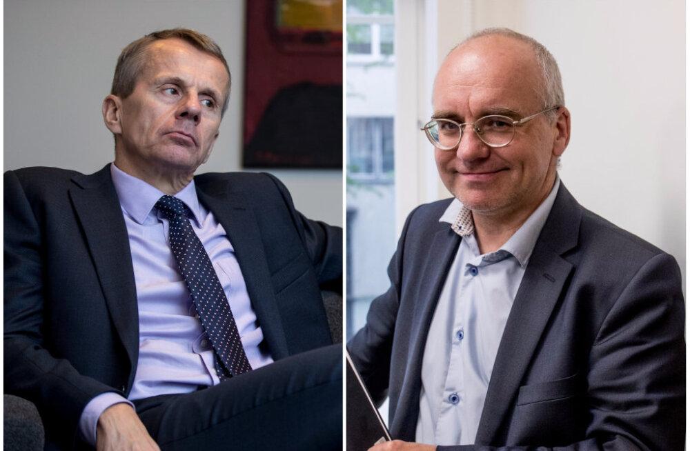 Jürgen Ligi Erik Roosest: kaamerat, avalikkust ja oma alluvaid kartev tegelane ei ole suur juht