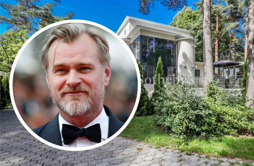 FOTOD | Christopher Nolan elas Eestis viibimise ajal eksmissi häärberis