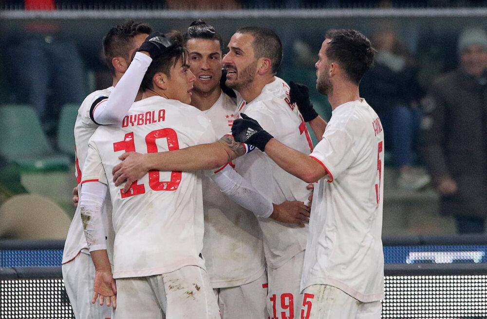 VIDEO | Ronaldo tegi Juventuse klubi ajalugu