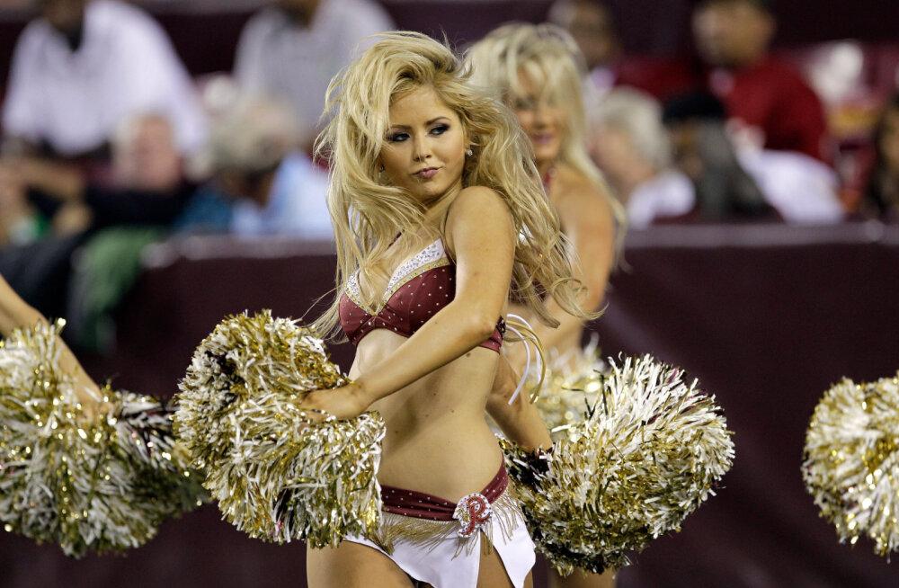 Skandaal NFL-is: Washington Redskinsi tantsutüdrukud süüdistavad klubi kupeldamises