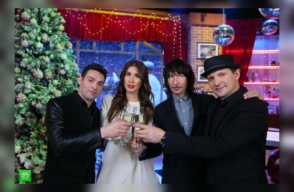 Главные шоу новогодней ночи на ПБК, НТВ-Мир и РЕН ТВ