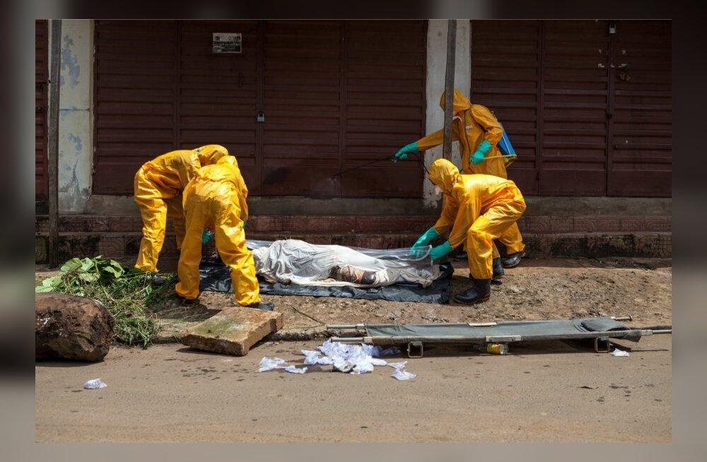 WHO: ebola on Lääne-Aafrikas sügavale juurdunud ja selle levik kiireneb