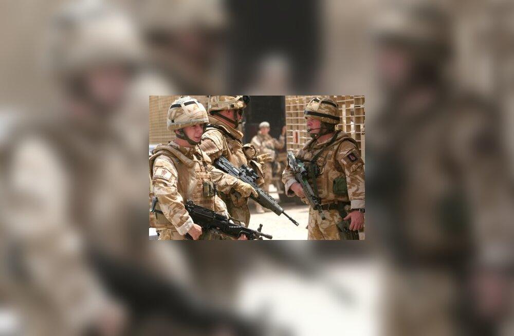 Salaleping hoidis britte Iraagis lahingust eemal
