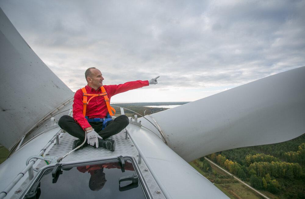 MEIE MAA   Sõnajalgade Eleoni tuulik töötab rekordigraafikus