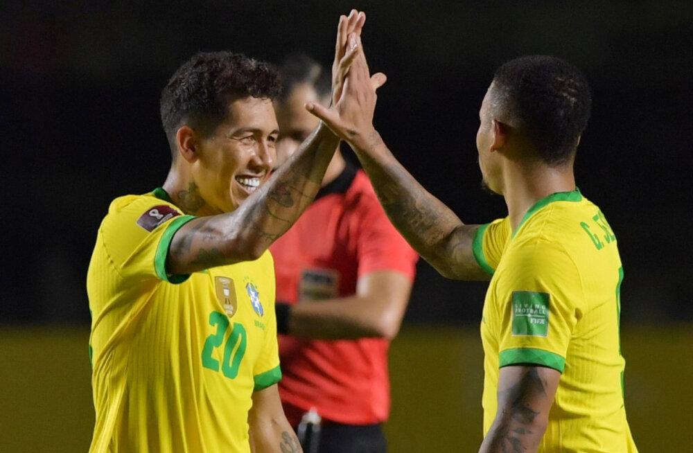 Бразильцы одержали третью победу в отборочном турнире