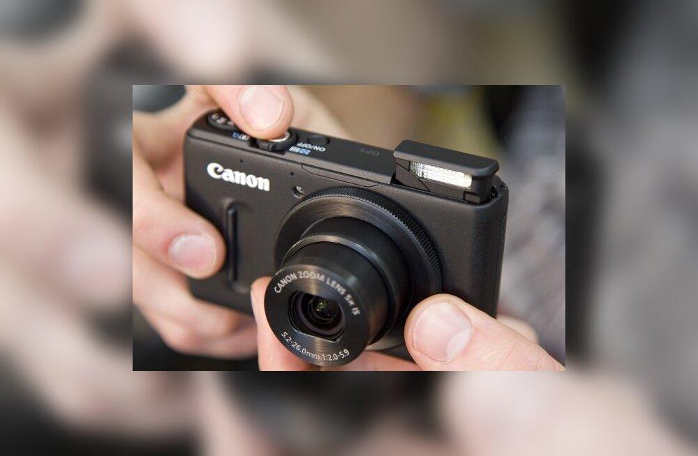 Esmatutvus: Canoni PowerShot S100 – parim kompaktkaamera üldse?