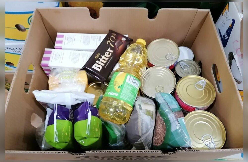 Пакет продуктовой помощи ЕС на одного нуждающегося весит 15 кг: смотрите, что в него входит