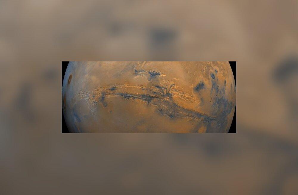 Planeet Marss võis olla elamiskõlbulik