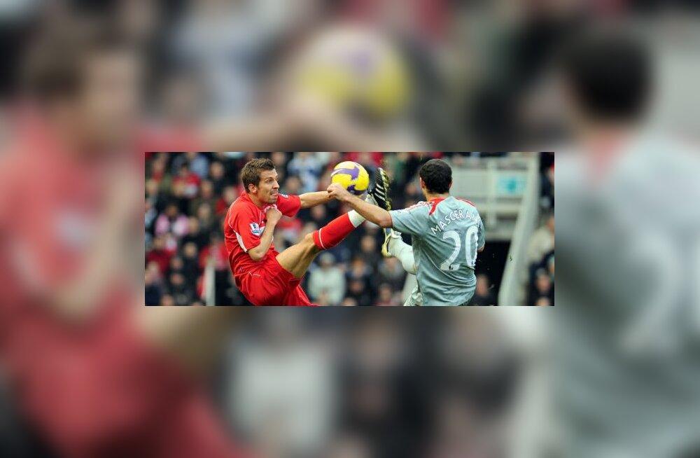 Võitlus - Middlesbrough Gary O Neil ja Liverpooli Javier Mascherano