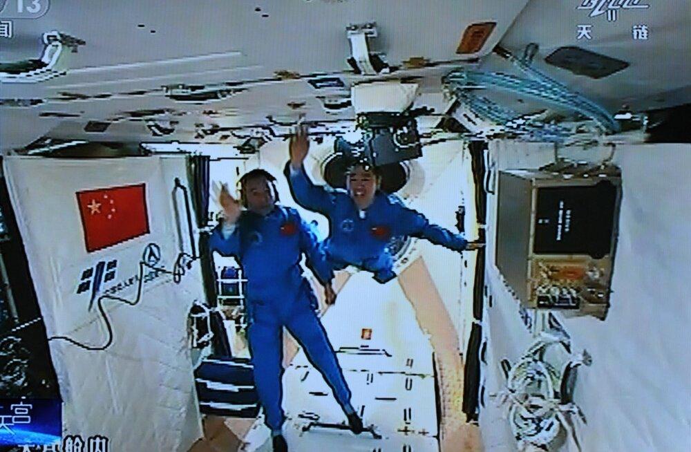 Nüüd siis Tiangong-2: hiinlased valmistuvad järgmise kosmosejaama Maale tagasi toomiseks