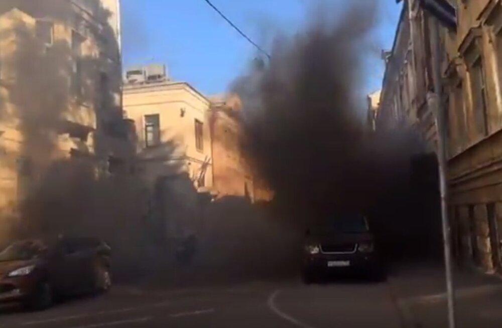 VIDEO | Moskvas rünnati Läti saatkonda
