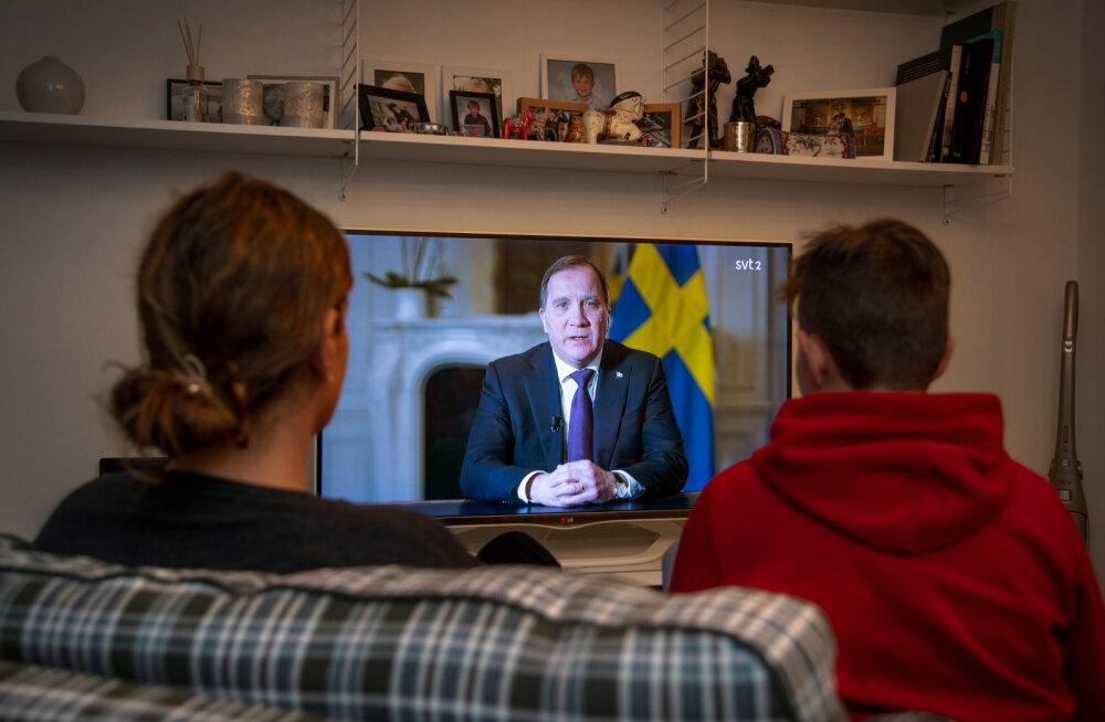 Rootsi peaminister esines harukordse telepöördumisega rahva poole: elu, tervis ja töökohad on ohus