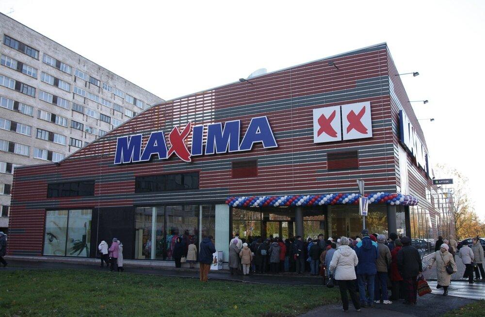 Narva uue Maxima avamine