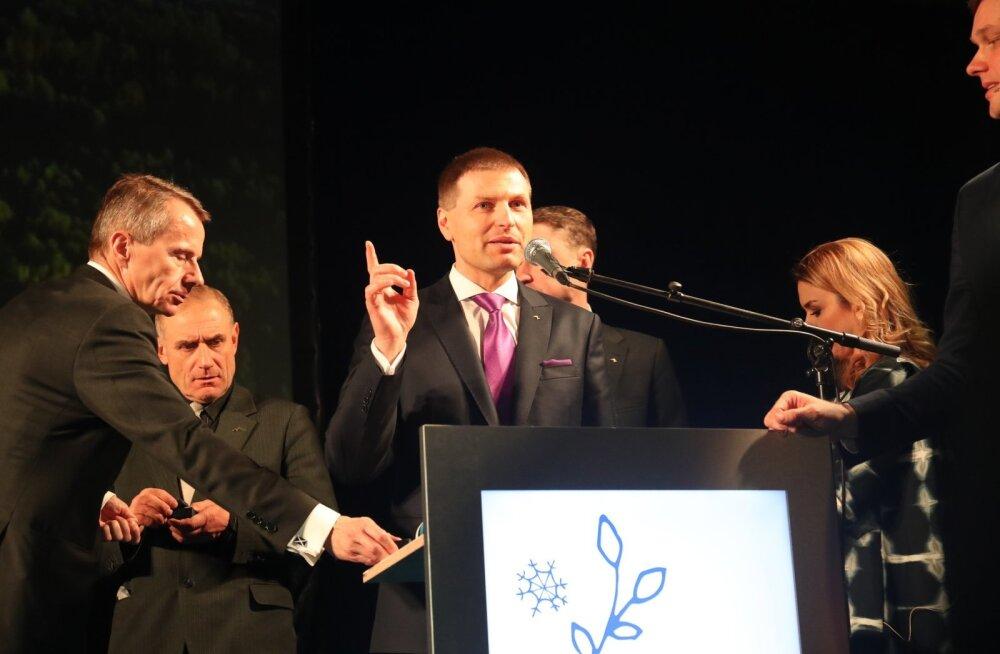 БОЛЬШАЯ ГАЛЕРЕЯ: Новым председателем Партии реформ стал Ханно Певкур