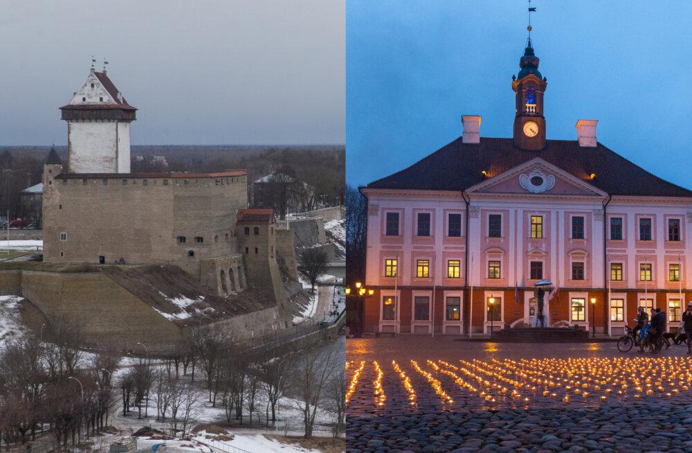 """""""Культурная столица 2024"""": Нарвское горсобрание урезало расходы и хочет равняться на Тарту, но в Тарту выделили почти в пять раз больше денег"""