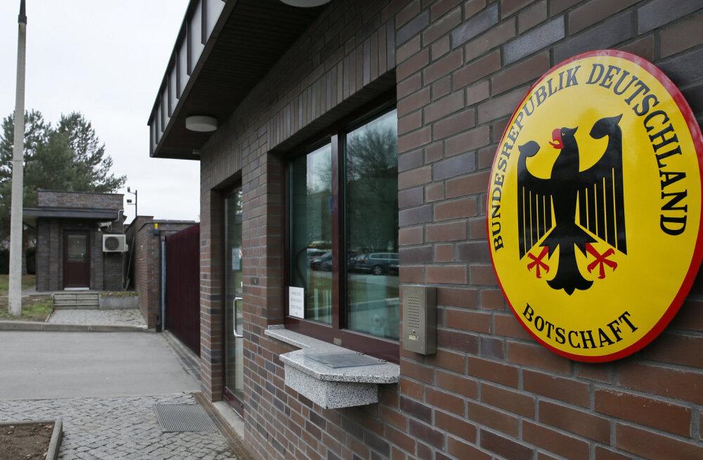 Venemaa saadab riigist välja kaks Saksa diplomaati