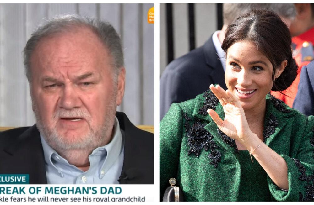 Kuninglik ekspert: Meghan Markle'i isa ei kohtu kunagi oma tulevase lapselapsega!