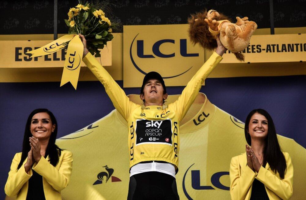 VIDEO | Dumoulin võitis eraldistardi sõidu, Thomas kindlustas Tour de France'i võidu