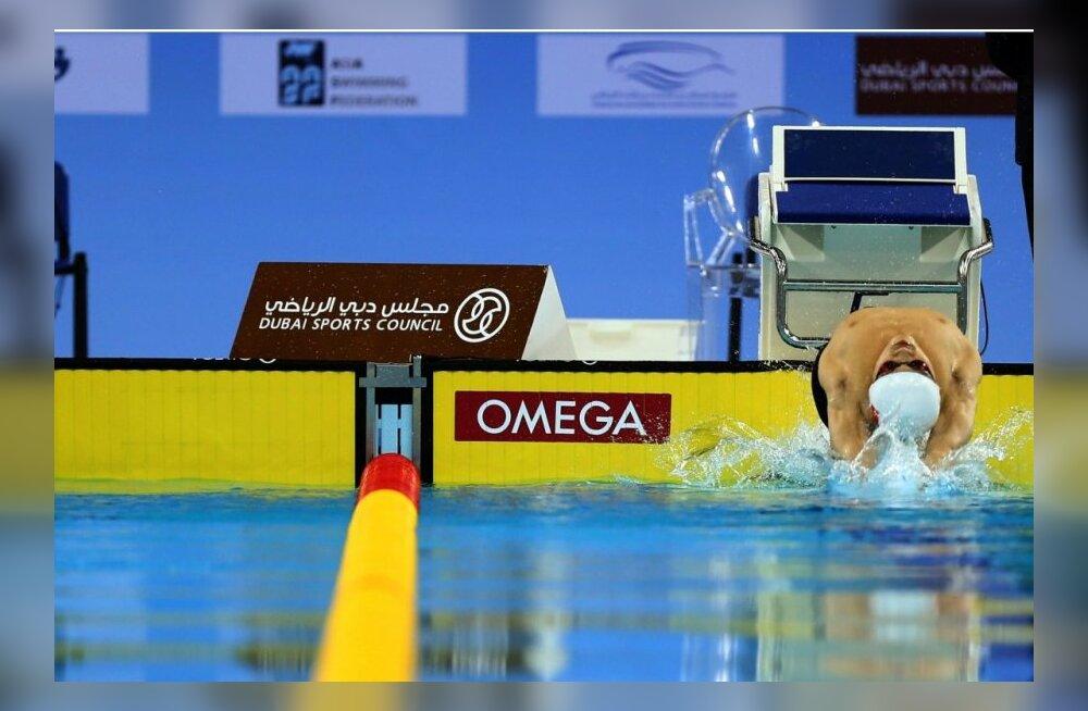 Eric Tött sai ujumises pronksmedali