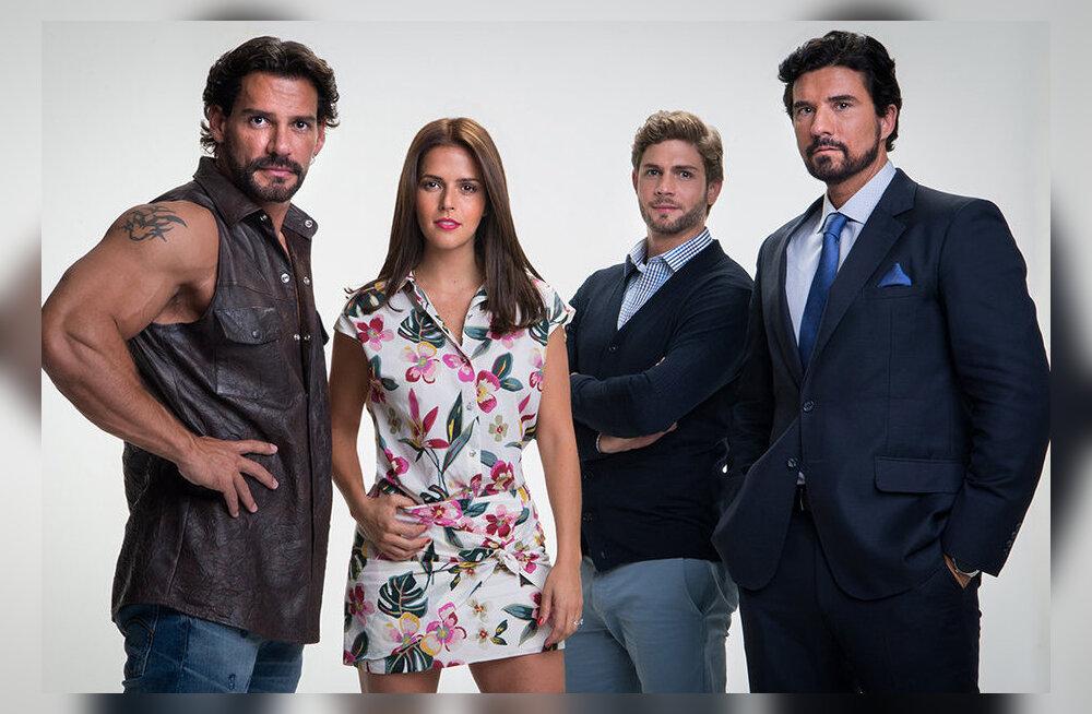"""Uhiuus Mehhiko seriaal """"Isabel"""" toob ekraanile armastuse nelinurga!"""