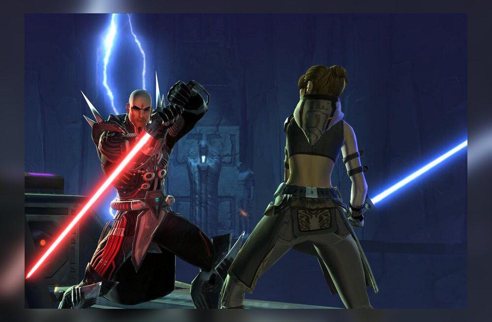 """""""Star Wars: The Old Republic"""" – piisavalt vaatemänguline, et muuta tunnid valgusaastaiks"""