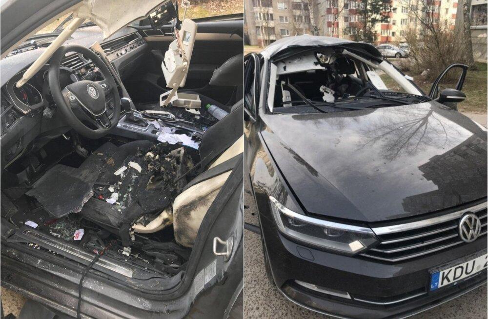 Взрыв автомобиля главы литовской Maximа: преступление поражает наглостью и глупостью