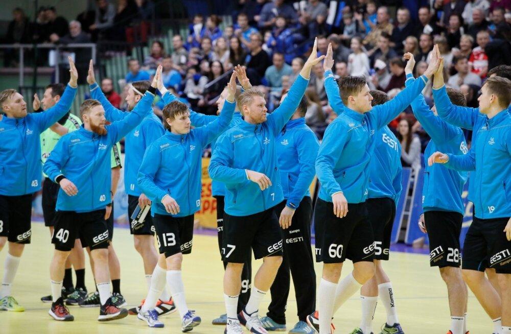 Eesti käsipallikoondislased