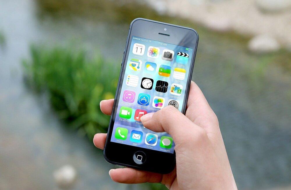 Välismaal kasutatava mobiilse interneti maht on hüppeliselt kasvanud